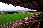 St James' Park before the Sky Bet League 2 match between Exeter City and Luton Town at St James' Park, Exeter, England on 19 December 2015. Photo by Graham Hunt.