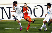 Fotball, 28. januar 2012 , Copa del Sol<br /> Dalian Aerbin FC – Rosenborg BK 1-3<br /> Jon Inge Høiland , , RBK<br /> Zhou Tong , Dalian