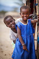 Samburu girls, Samburu National Reserve, Kenya