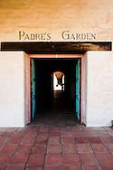 Padre's Garden at Mission San Antonio de Padua, Monterey County, California