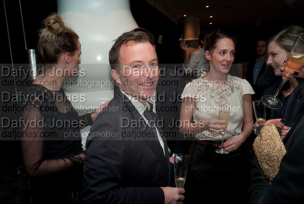 TONY CHAMBERS; POPPY DE VILLENEUVE, Art and Culture editions dinner. Mondrian Hotel. Miami. 4 December 2010. -DO NOT ARCHIVE-© Copyright Photograph by Dafydd Jones. 248 Clapham Rd. London SW9 0PZ. Tel 0207 820 0771. www.dafjones.com.