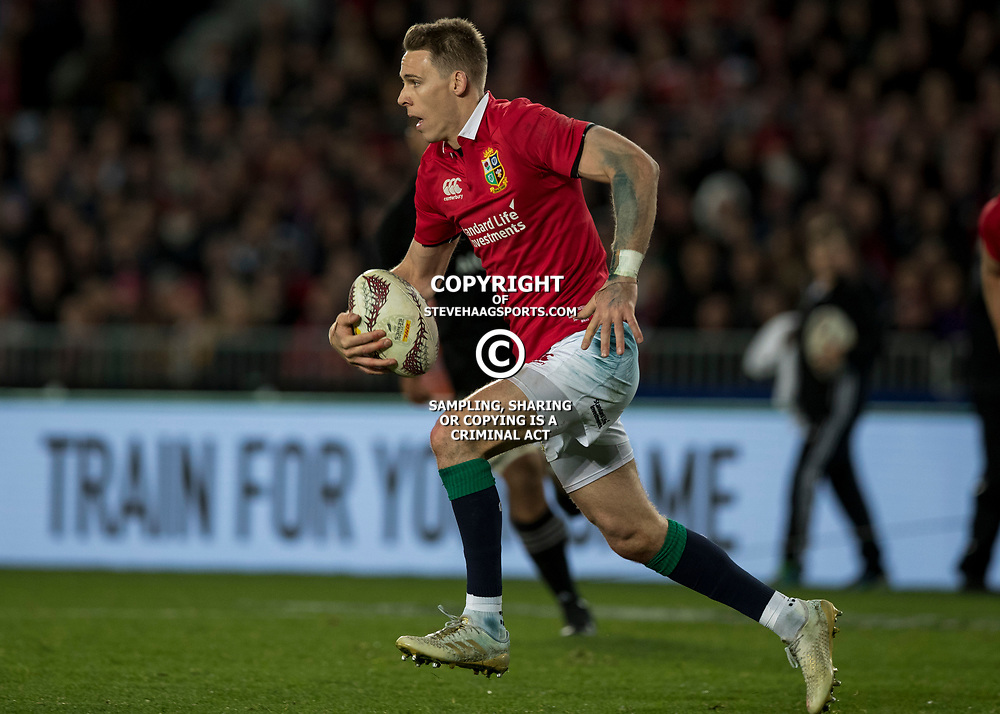 Liam Williams during game 7 of the British and Irish Lions 2017 Tour of New Zealand, the first Test match between  The All Blacks and British and Irish Lions, Eden Park, Auckland, Saturday 24th June 2017<br /> (Photo by Kevin Booth Steve Haag Sports)<br /> <br /> Images for social media must have consent from Steve Haag