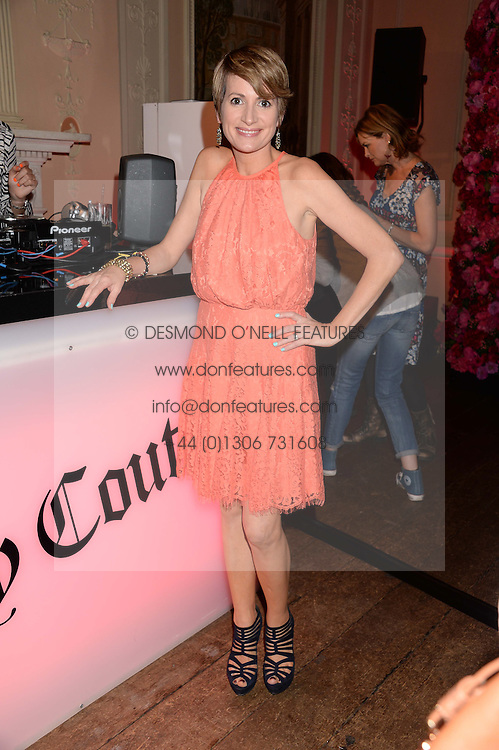 LOUISE OSBOURNE at the Juicy Couture - Viva La Juicy perfume Party held at Home House, Portman Square, London on 30th May 2013.