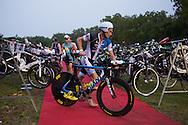 Brad Kahlefeldt (AUS), June 8, 2014 - TRIATHLON : Ironman Cairns 70.3 / Cairns Airport Adventure Festival, Palm Cove - Captain Cook Highway - Cairns Esplanade, Cairns, Queensland, Australia. Credit: Lucas Wroe