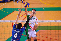 Milos VEMIC / Aleksandar MILKOV  - 13.12.2014 - Tourcoing / Montpellier - 11eme journee de Ligue A<br /> Photo :  Dave Winter / Icon Sport *** Local Caption ***