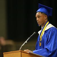 THS valedictorian Eric Huey