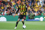 Watford midfielder Etienne Capoue (29) during the Premier League match between Watford and Manchester United at Vicarage Road, Watford, England on 15 September 2018.
