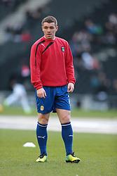 Coventry City's John Fleck - Photo mandatory by-line: Nigel Pitts-Drake/JMP - Tel: Mobile: 07966 386802 30/11/2013 - SPORT - Football - Milton Keynes - Stadium mk - MK Dons v Coventry City - Sky Bet League One