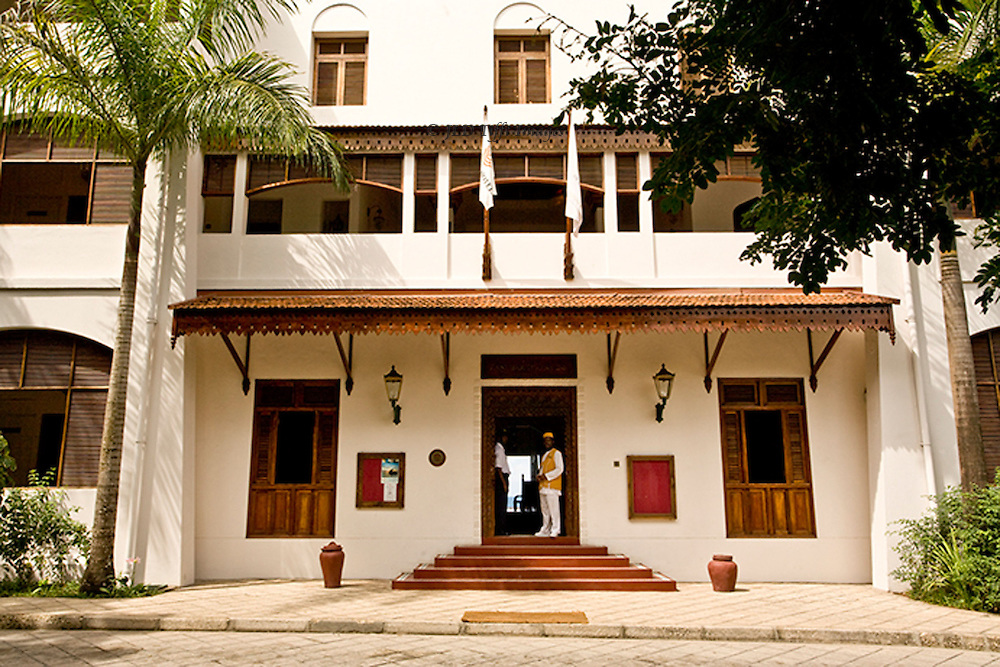Serena Inn, Stonetown.  One of a chain estzblished by the Aga Khan.