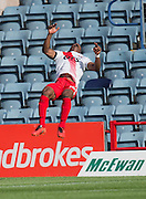 Kilmarnock&rsquo;s Souleymane Coulibaly celebrates his superb goal - Dundee v Kilmarnock in the Ladbrokes Scottish Premiership at Dens Park, Dundee. Photo: David Young<br />