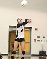 Mount Vernon's Marissa Stark (8) goes for a dig during the WaMaC Tournament semifinal game at Mount Vernon High School in Mount Vernon on Thursday October 11, 2012. Solon defeated Mount Vernon 26-24, 25-22.