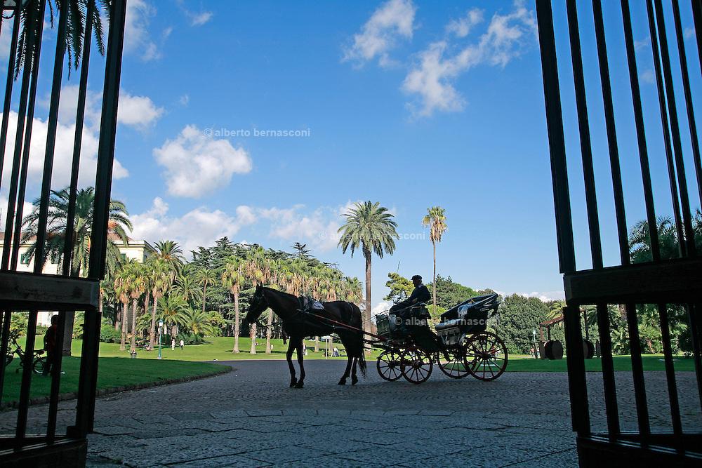 Naples, capodimonte Gardens.