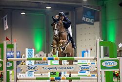 Brosens Stef, BEL, Hassan<br /> Nationaal Indoorkampioenschap  <br /> Oud-Heverlee 2020<br /> © Hippo Foto - Dirk Caremans
