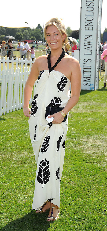 OLIVIA BUCKINGHAM at the Cartier International Polo at Guards Polo Club, Windsor Great Park on 27th July 2008.<br /> <br /> NON EXCLUSIVE - WORLD RIGHTS