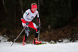 TOROPOV Aleksei Guide:  FATKHULLIN Evgenii, RUS at the 2014 IPC Nordic Skiing World Cup Finals - Long Distance