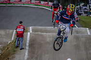 #169 (BLANCHOD Titouan) FRA during round 4 of the 2017 UCI BMX  Supercross World Cup in Zolder, Belgium.