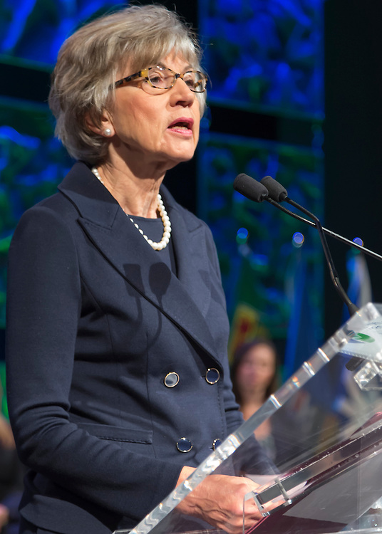 The Right Honourable Beverley McLachlin, P.C., Chief Justice of Canada. Opening ceremonies and plenary, Canadian Bar Association 2013 Conference, Saskatoon, Saskatchewan.