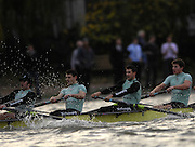 London. GREAT BRITAIN, 2007 Cambridge  University BC trial Eights,  Stay Calm [Surrey]  4. Alistair MACLEOD, 6. Tom JAMES, 6. Colin SCOTT, 7.  Kristopher McDANIEL, during  the Trial Eights, between Putney and Chiswick  08.12.2006. [Photo, Peter Spurrier/Intersport-images]. Varsity:Boat Race, Rowing Course: River Thames, Championship course, Putney to Mortlake 4.25 Miles