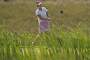 Shanshan Feng during the second day of match play at the U.S. Women's Amateur at Crooked Stick Golf Club on Aug. 9, 2007 in Carmel, Ind.    ...©2007 Scott A. Miller