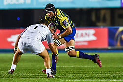 George Earle of Cardiff Blues in action  - Mandatory by-line: Craig Thomas/JMP - 14/01/2018 - RUGBY - BT Sport Cardiff Arms Park - Cardiff, Wales - Cardiff Blues v Toulouse - European Rugby Challenge Cup