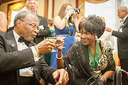 Photographs of the Alumni Awards Gala hosted by the Ohio University Alumni Association at the Ballroom in Baker University Center on the Ohio University campus in Athens, Ohio on Oct. 9, 2015.<br /> <br /> [Photograph by Joel Prince]