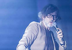 The inimitable Pulp frontman and solo artist, Jarvis Cocker remains a startlingly vital force in music, playing songs from his glittering career. He returns to the International Festival with his new project JARV IS
