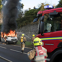 A85 Van Fire Perth