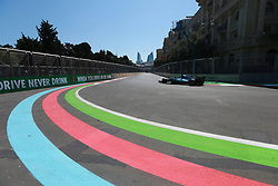 June 24, 2017 - Baku, Azerbaijan - Motorsports: FIA Formula One World Championship 2017, Grand Prix of Europe, .#44 Lewis Hamilton (GBR, Mercedes AMG Petronas Formula One Team) (Credit Image: © Hoch Zwei via ZUMA Wire)