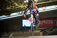 #110 (SMULDERS Laura) NED at the 2014 UCI BMX Supercross World Cup in Manchester.