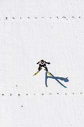 March 10, 2019 - Oslo, NORWAY - 190310 Maren Lundby of Norway competes in women's ski jumping individual competition during the FIS Raw Air World Cup on March 10, 2019 in Oslo..Photo: Jon Olav Nesvold / BILDBYRÃ…N / kod JE / 160423 (Credit Image: © Jon Olav Nesvold/Bildbyran via ZUMA Press)