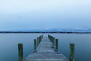"""""""A Short Pier""""<br /> Greenport, Long Island"""
