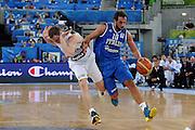 LUBIANA EUROBASKET 2013 19 SETTEMBRE 2013<br /> NAZIONALE ITALIANA MASCHILE<br /> LITUANIA VS ITALIA<br /> NELLA FOTO: MARCO BELINELLI<br /> FOTO CIAMILLO
