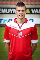 Dimitri Mohamed pictured during the 2015-2016 season photo shoot of Belgian first league soccer team Royal Mouscron Peruwelz, Thursday 16 July 2015 in Mouscron.