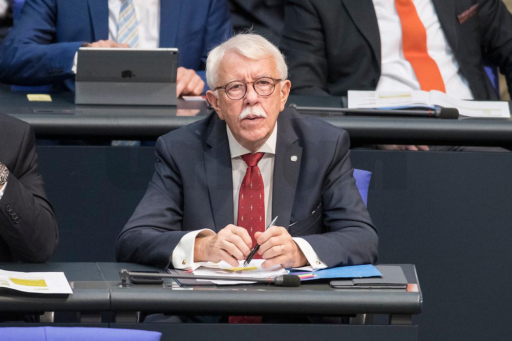 08 NOV 2018, BERLIN/GERMANY:<br /> Paul Viktor Podolay, MdB, AfD, Bundestagsdebatte zum Gesetzentwurf der Bundesregierung ueber Leistungsverbesserungen und Stabilisierung in der gesetzlichen Rentenversicherung, Plenum, Deutscher Bundestag<br /> IMAGE: 20181108-01-027<br /> KEYWORDS: Sitzung