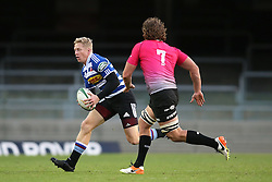 Scott van Breda of Western Province attempts to get past Lambert Groenewald of the Pumas during the Currie Cup Premier Division match between the DHL Western Province and the Pumas held at the DHL Newlands rugby stadium in Cape Town, South Africa on the 17th September  2016<br /> <br /> Photo by: Shaun Roy / RealTime Images