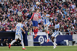 March 9, 2019 - Madrid, Madrid, Spain - Atletico de Madrid's Antoine Griezmann during La Liga match between Atletico de Madrid and CD Leganes at Wanda Metropolitano stadium in Madrid. (Credit Image: © Legan P. Mace/SOPA Images via ZUMA Wire)