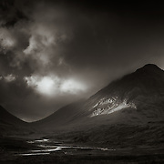 Lairig Gartain and Stob nan Cabar, Glen Coe.