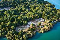 Albanie, province de Vlore, site archeologique de Butrint, Patrimoine mondial de l'Unesco // Albania, Vlore province, Butrint, Ruins of the greek city, UNESCO World Heritage Site
