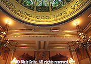 PA Capitol, Supreme Court Room, Lights and Dome, Joseph Huston, Architect