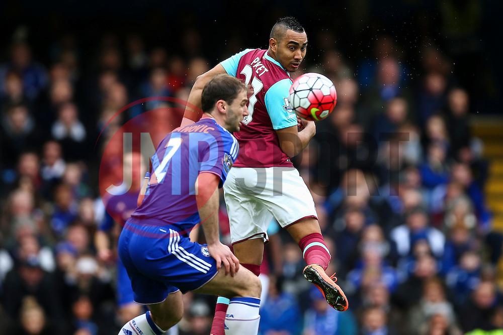Angelo Ogbonna Obinze of West Ham United heads the ball behind - Mandatory byline: Jason Brown/JMP - 19/03/2016 - FOOTBALL - London, Stamford Bridge - Chelsea v West Ham United - Barclays Premier League