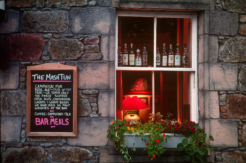 The Mash Tun Pub in Aberlour, Scotland.