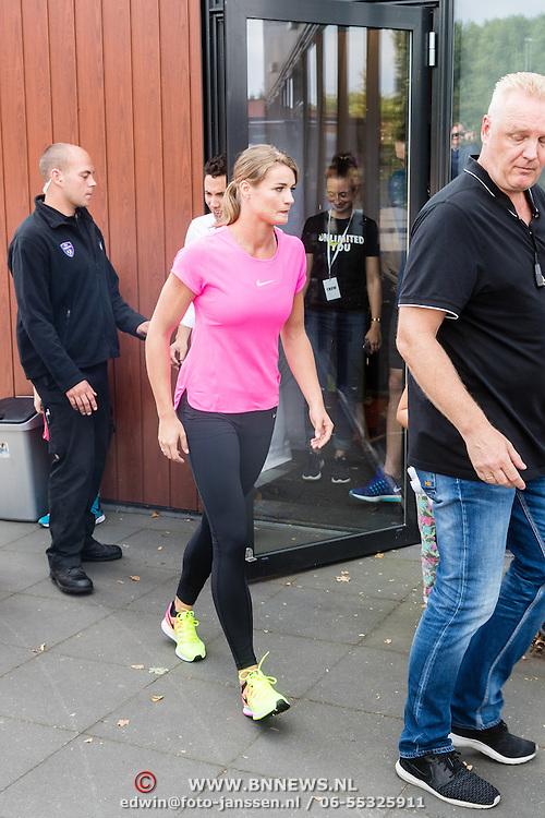 NLD/Utrecht/20160903 - Daphne Schippers geeft een clinic bij haar oude club, Daphne met