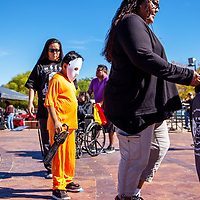 Those that attended the Fall Festival Saturday at the McKinley County Courthouse Square got a chance to win prizes at the cake walk.
