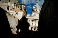 The Capitolio Nacional, Havana. Cuba. October 2012. Photo/Tomas Munita