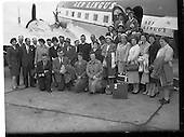 1960 - Manchester Pilgrimage to Lough Derg at Dublin Airport