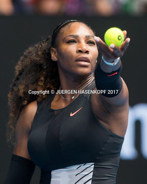 SERENA WILLIAMS (USA)<br /> <br /> Australian Open 2017 -  Melbourne  Park - Melbourne - Victoria - Australia  - 17/01/2017.