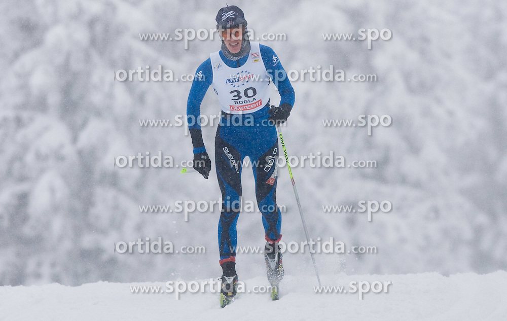 Aurore Cuinet of France at Ladies 1.4 km Free Sprint Competition of Viessmann Cross Country FIS World Cup Rogla 2009, on December 19, 2009, in Rogla, Slovenia. (Photo by Vid Ponikvar / Sportida)