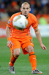 11.07.2010, Soccer-City-Stadion, Johannesburg, RSA, FIFA WM 2010, Finale, Niederlande (NED) vs Spanien (ESP) im Bild Wesley Sneijder, EXPA Pictures © 2010, PhotoCredit: EXPA/ InsideFoto/ Perottino *** ATTENTION *** FOR AUSTRIA AND SLOVENIA USE ONLY! / SPORTIDA PHOTO AGENCY