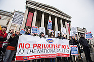 3 Feb. 2015 - National Gallery staff start five-day strike amid news of suspension.