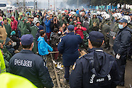 Refugees stucked in Idomeni, 09.03.16